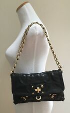 Juicy Couture Butter-Soft Leather Evening Bag Chain Strap +Dustbag Excellent!