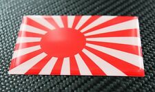 Rising Sun Flag  旭日旗 DOMED 3D Decal Sticker Japan Flag