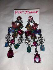 - Betsey Johnson Fairytale Dreams Chandelier Earrings