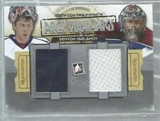 2013-14 Between the Pipes Pack Your Bag Jersey Silver #PYB07 Varlamov (ref41437
