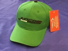Indianapolis Indy 500 JUNCOS RACING Salesman Sample GREEN TEAM ISSUE Hat Cap