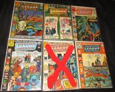 ,2,3,4,5,6,7,8,9,10 PRICED PER COMIC Justice Society V.1-2 U-PICK ONE 1 V.1 only