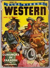 BLUE RIBBON WESTERN (6/1943) HARRY VAN DEMARK, LEE FLOREN, CLIFF CAMPBELL