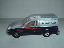 CORGI TOYS FORD ESCORT 55 BRITISH AIRWAYS IN USED CON'D