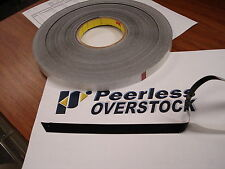 3M 8672 9/16 X 144YD BLACK  POLY PROTECTIVE TAPE 1 Roll (700000835201)