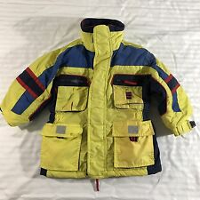 Outbrook Kids Winter Jacket Coat Yellow Blue Fleece Lined Toddler Boys Girls 3T