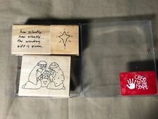 Close To My Heart JRL NATIVITY SET Holy Family, Star, Words S394, gently used