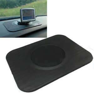 Car Dashboard Sticky Pad Mat Anti Non Slip Mobile GPS Sat Nav Coin Gadget Holder