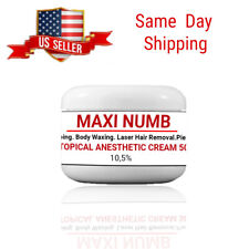 MAXI NUMB 50 g ANESTHETIC CREAM 10,5% Strongest Topical Numbing Cream