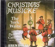 The York Waits & Deborah Catterall - Christmas Musicke 1400-1800 (Brand New CD)