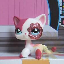 Littlest Pet Shop Animals Collection LPS Toys Sparkle Glitter Kitten Kitty Cat