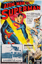 Atom Man vs Superman - 1950 - Movie Poster
