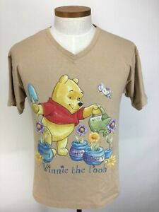 Winnie the Pooh Disney Short Sleeve Graphic T Shirt  Adult Small