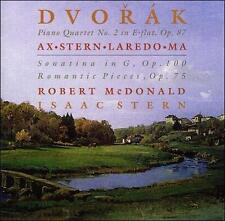 Dvorak: Piano Quartet No. 2 in E flat, Op. 87; Sonatina in G, Op. 100; Romantic
