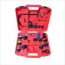 18 Pcs Universal Radiator Pressure Tester Tool Kit Cooling System Testing Tool