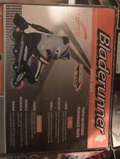 Youth kids adjustable sizes 1 2 3 4 Bladerunner Phaser Inline Skates Black Gray