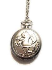 Collana Orologio Fullmetal Alchemist Edward Elric Don't Forget 3 Oct 11 Regalo