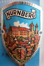 Nurnberg Nürnberg new badge mount stocknagel hiking medallion G9799