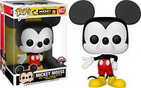 "Mickey Mouse 10"" #457 Color Funko Pop Vinyl New in Box"