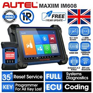 Autel MaxiIM IM608 XP400 & J2534 IMMO Key Programming Scanner No IP Restriction