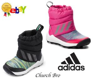 New adidas Kid's Rapidasnow Boys & Girls  High Rise Boots