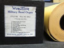 Wurlitzer 165 Recut Band Organ Roll #6813