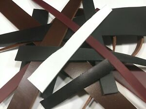 300grams assorted Full Grain leather offcuts Remnants assorted colour and pieces