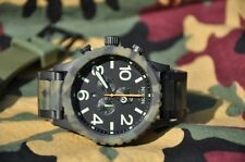 Nixon 51-30 Chrono Matte Camouflage Green Men's Wrist Watch