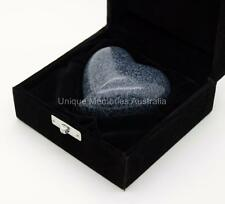 Solid Brass Manus Granite Heart Style Cremation Memorial Keepsake Funeral Urn