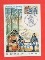 FDC 1971 - La Correo a Los Armadas 1914-1918 (K309)