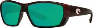 COSTA Tuna Alley Sunglasses Green Mirror Copper 580GLASS Tortoise Global OMNIFit