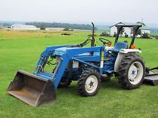 Ford Shibaura 1710 Compact Tractor Loader 26 Hp, 1016 Hrs New Water Pump. Clean!