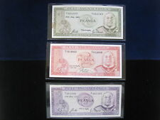 TONGA 1 2 5 PA'ANGA 1987 SET 28# WORLD BANK CURRENCY BANKNOTE MONEY