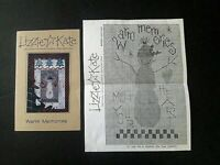 Lizzie Kate Cross Stitch Pattern Warm Memories #012 Pattern and booklet