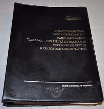 Ikarus 260 50 52 280 63 Bus Parts Catalog 7languages Mogurt NO Brochure Prospekt