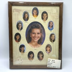 Vintage Wood Framed School Pictures 1st to 12th Grade NOS 70579G 12 X 15