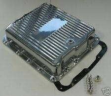GM TURBO 700R 4 4L60E ALUMINIUM TRANSMISSION PAN POLISHED CHEV DRAG HOTROD GMH