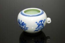 Hand Painted Porcelain Bird Feeder Bowl Cup for Chinese Bamboo Bird Cage