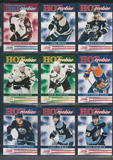 2011-12 Score Hot Rookies Lot # 501 to 546