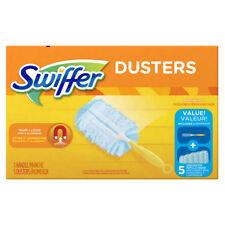 New #40509 SWIFFER Duster Starter Kit 5 Disposable Dusters + Handle Dust Cleaner
