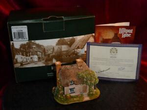 LILLIPUT LANE Butterfly Cottage L2298 Sales Promo SE Hertfordshire Boxed+deeds