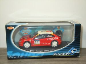 Citroen Xsara WRC 2001 - Solido 1567 - 1:43 in Box *53504