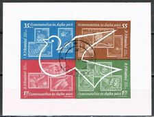 Roemenië 1962 blok 53 postzegel op postzegel - gestempeld - used