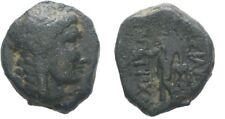 Ancient Greece 222-187 BC SELEUKID KINGDOM Sardeis ANTIOCHOS III APOLLO AE