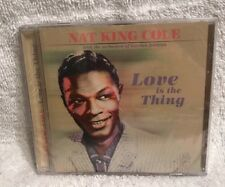 Love Is The Thing Nat King Cole Audio CD NEW Sealed Play 24-7 Gordon Jenkins