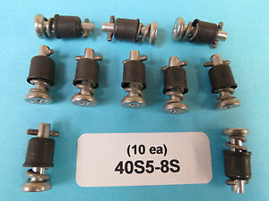 40S5-8S Camloc Stud Stainless Turnlock Fastener (10 ea) Aircraft Aviation Race