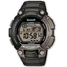Casio STB-1000-1EF Bluetooth Chronograph Quartz Sports Running Alarm iPhone IOS