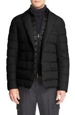 Moncler Ferrand Giacca Quilted Sport Men's Black Coat Size 3 Large