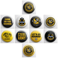 PITTSBURGH RIVERHOUNDS SC - USL soccer pinback buttons - sports team pins badges