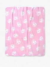 New In Bag Victoria Secret PINK Pink Violet Earth Love Sherpa Blanket Super Soft
